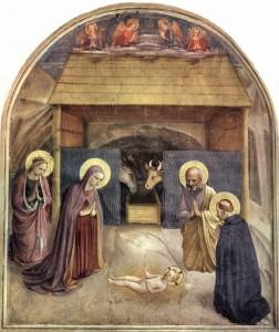 Adorazione del Bambino, Beato Angelico